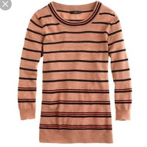 J. Crew Stripe Tippi Sweater